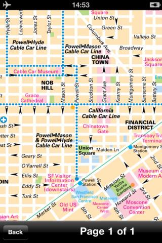 【旧金山(美国)地图