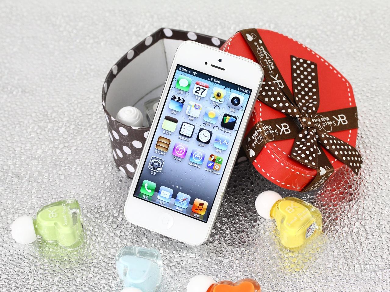 苹果iPhone5(64GB)整体外观第4张