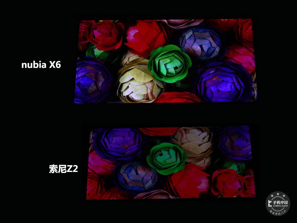 努比亚X6(128GB)产品对比第2张