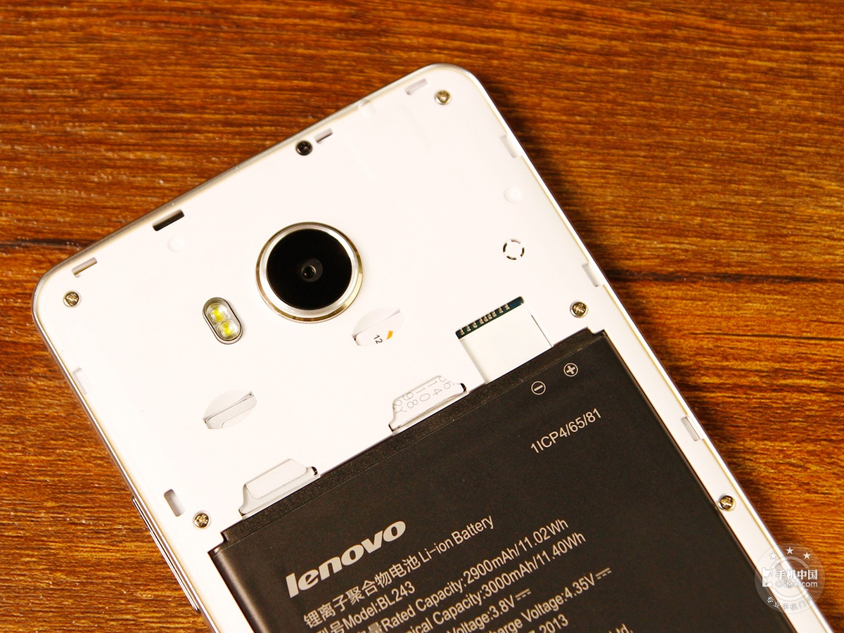 联想黄金斗士S8畅玩版(移动4G/8GB)机身细节第5张
