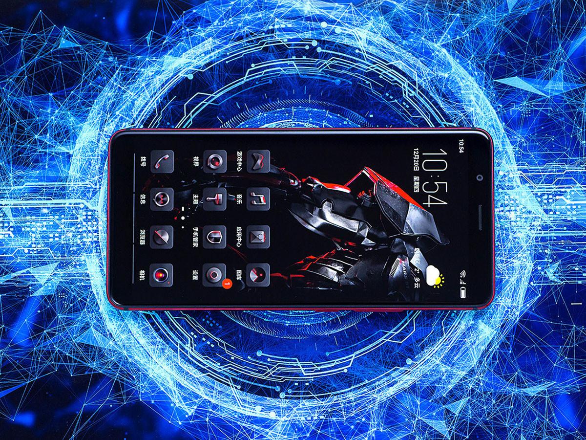 努比亚红魔Mars电竞手机(256GB)整体外观第3张