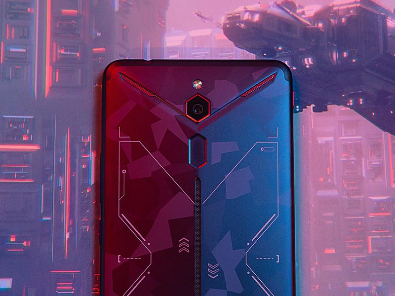 努比亚红魔Mars电竞手机(128GB)机身细节第4张