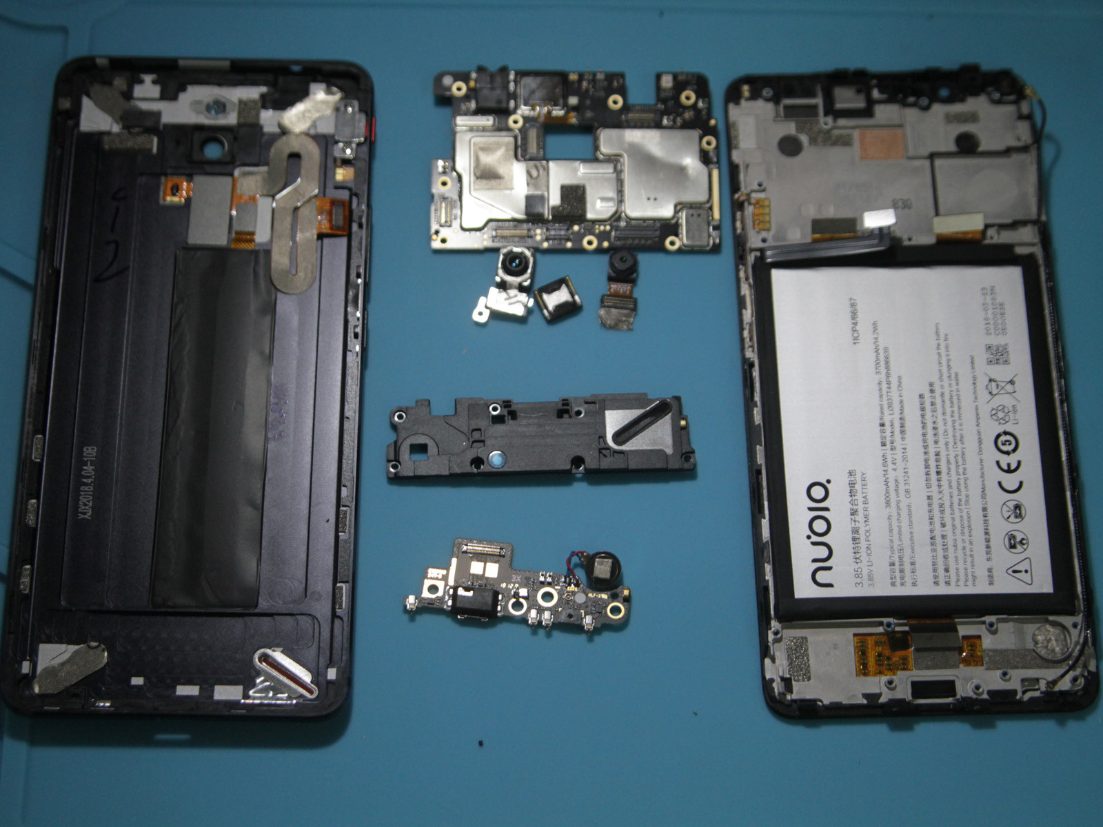 努比亚红魔电竞游戏手机(64GB)拆机图赏第2张