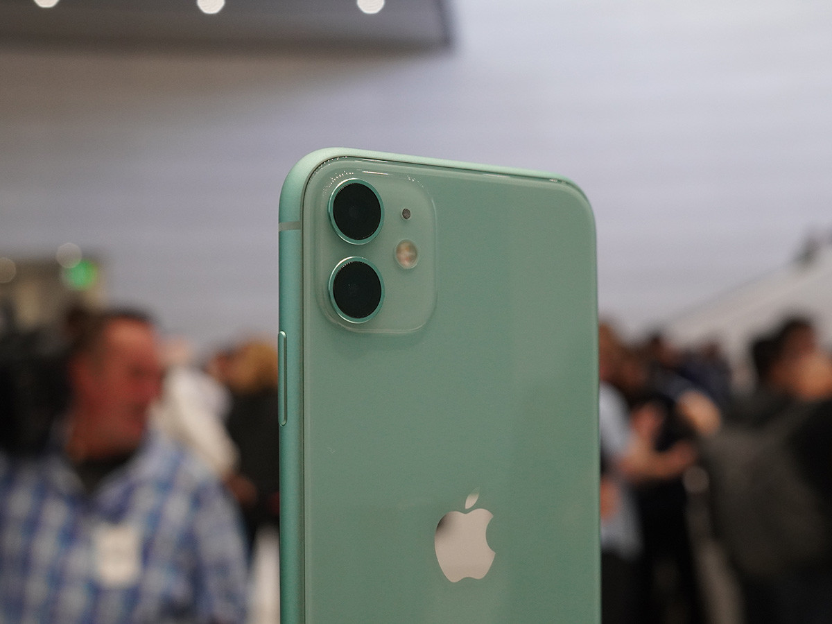 苹果iPhone11(128GB)机身细节第8张
